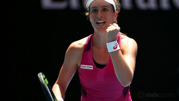Australian Open 2016 Johanna Konta