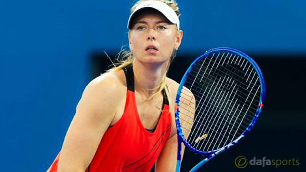 Australian Open 2016 Maria Sharapova