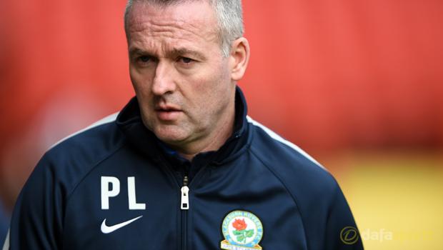 Charlton Athletic v Blackburn Rovers Paul Lambert