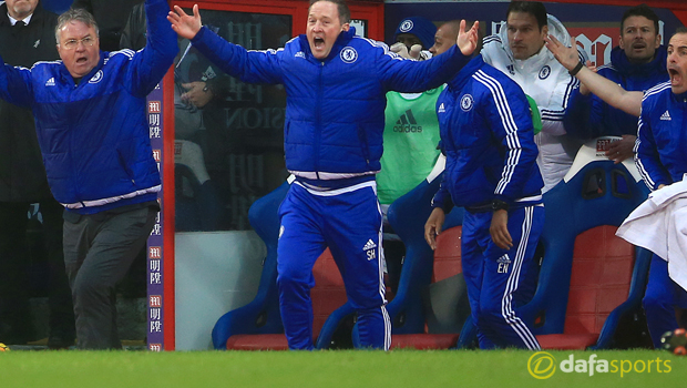 Chelsea boss Guus Hiddink Premier League