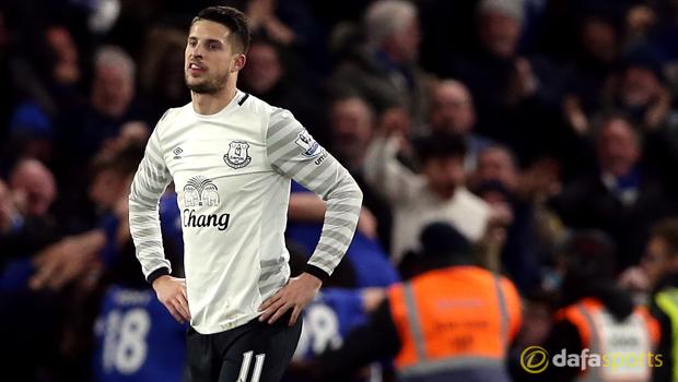 Everton winger Kevin Mirallas