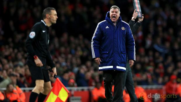 Manager Sam Allardyce Sunderland