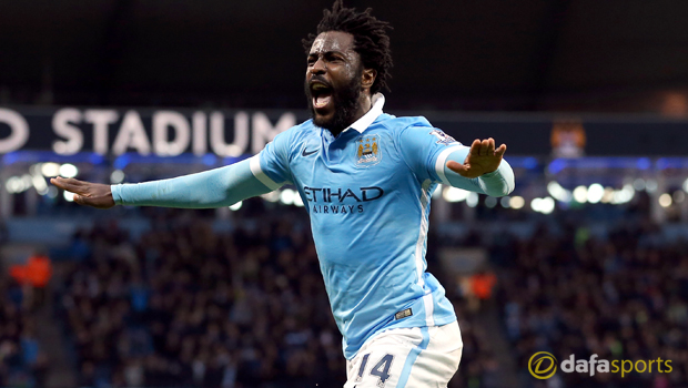 Manchester City Wilfried Bony