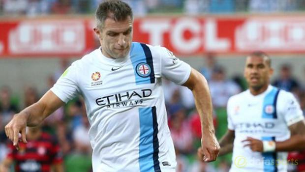 Melbourne City Aaron Hughes Euro 2016