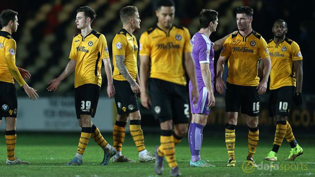 Newport County ahead of Rovers Match