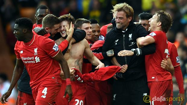 Norwich City v Liverpool Premier League