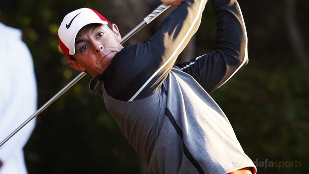 Rory McIlroy Abu Dhabi Golf Championship
