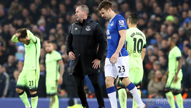 Seamus Coleman Everton v Manchester City Capital One Cup