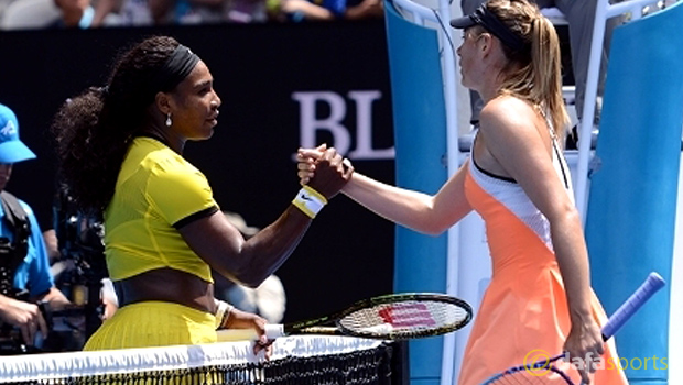 Serena Williams v Maria Sharapova Australian Open
