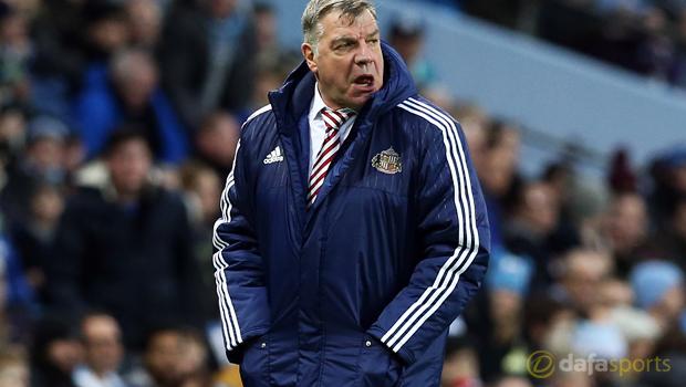 Sunderland manager Sam Allardyce Premier League match