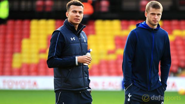 Tottenham Hotspur Dele Alli and Eric Dier Euro 2016
