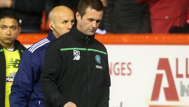 Aberdeen v Celtic boss Ronny Deila