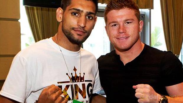 Amir Khan v Canelo Alvarez Boxing