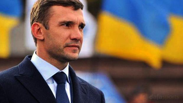 Andriy Shevchenko Ukraine Assistant Coach Euro 2016