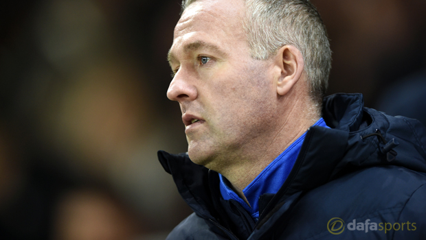 Blackburn Rovers boss Paul Lambert Championship