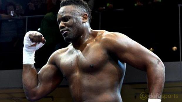 British heavyweight Dereck Chisora