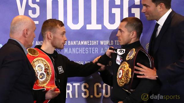Carl Frampton v Scott Quigg Boxing