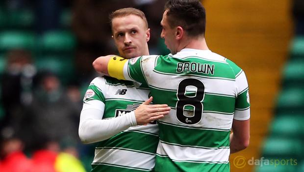 Celtic striker Leigh Griffiths Euro 2016