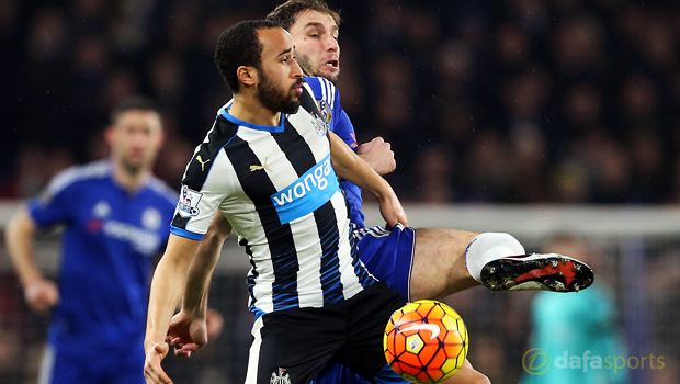 Chelsea v Newcastle United Andros Townsend