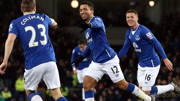 Everton Aaron Lennon to Euro 2016