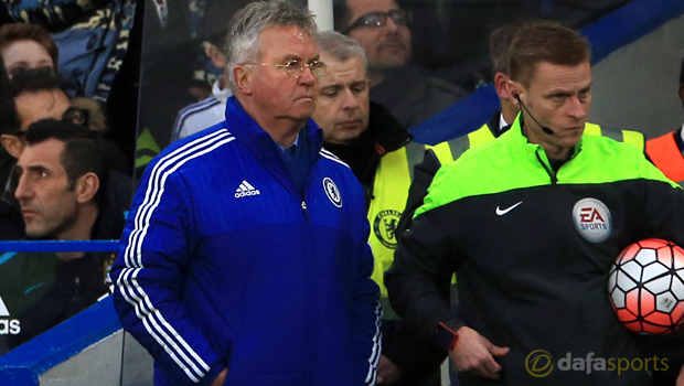 Guus Hiddink Chelsea interim manager