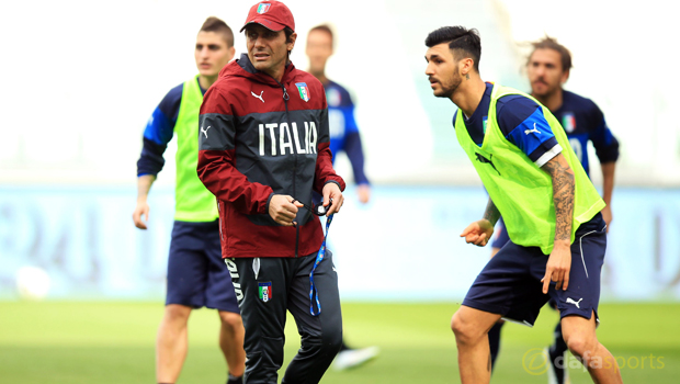 Italy head coach Antonio Conte Euro 2016