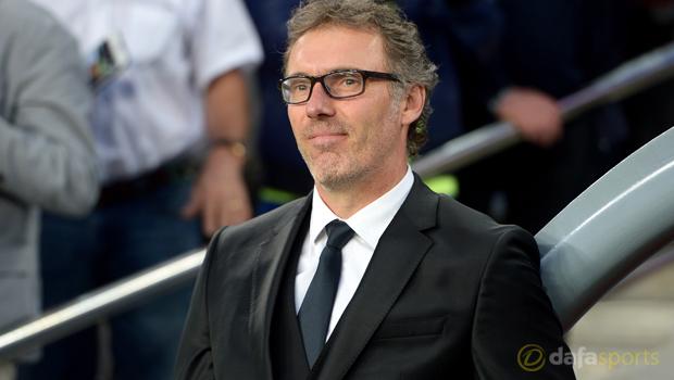 Laurent Blanc PSG boss