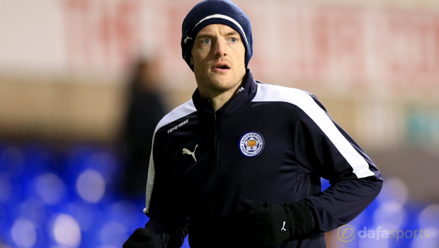 Leicester City Jamie Vardy to Euro 2016