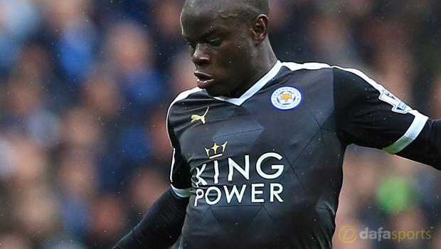 Leicester City NGolo Kante