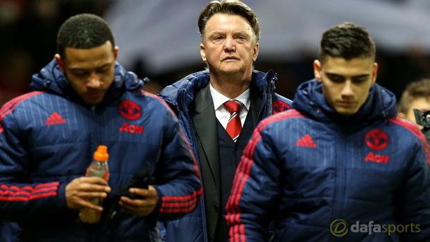 Louis Van Gaal Manchester United v Stoke City