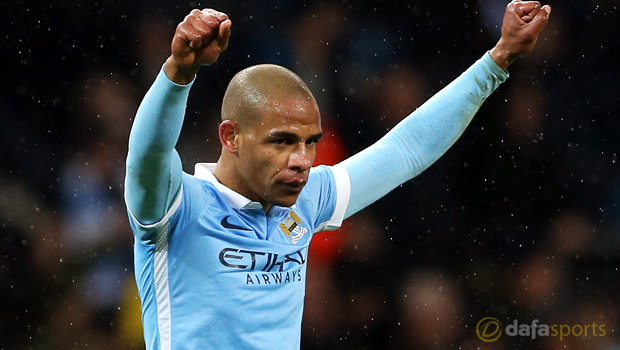 Man City midfielder Fernando