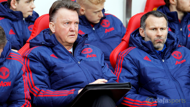 Man United manager LVG