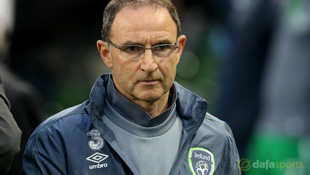 Martin ONeill Republic of Ireland manager Euro 2016
