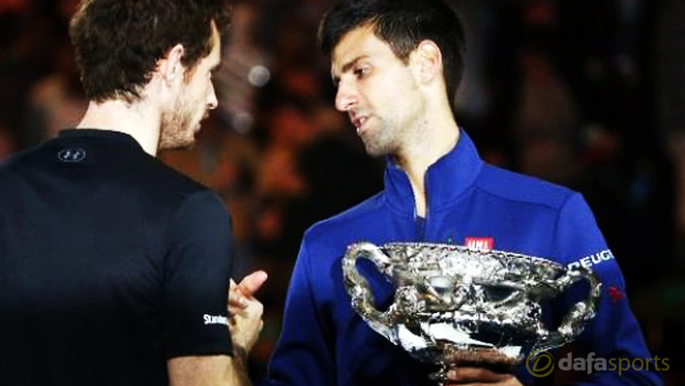 Novak Djokovic beats Andy Murray Australian Open