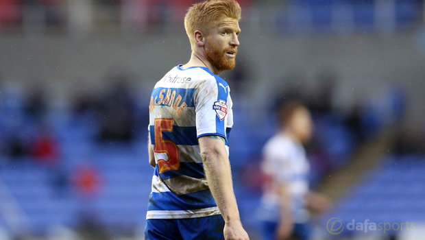 Reading defender Paul McShane