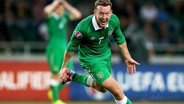 Republic of Ireland Aiden McGeady Euro 2016