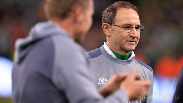 Republic of Ireland manager Martin O Neill