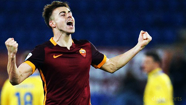 Roma forward Stephan El Shaarawy