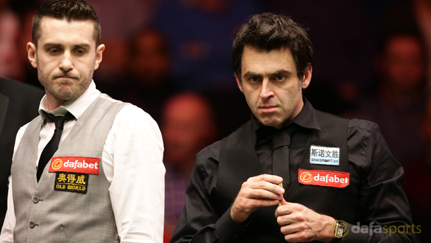 Ronnie OSullivan and Mark Selby Snooker