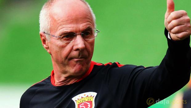 Shanghai SIPG head coach Sven Goran Eriksson