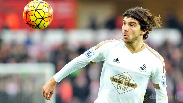 Swansea City Alberto Paloschi