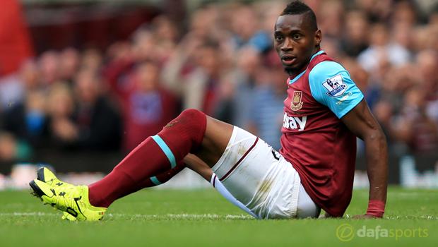 West Ham United striker Diafra Sakho