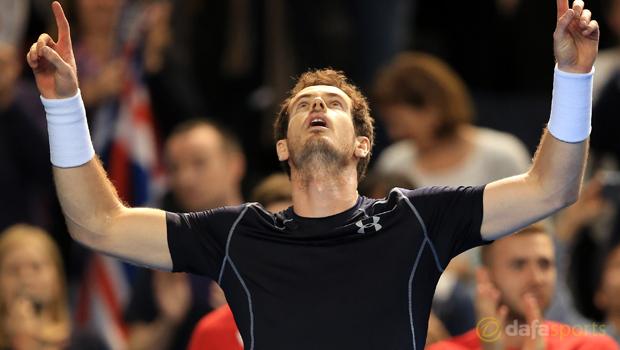Andy Murray Davis Cup 2016