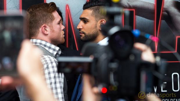 Canelo Alvarez v Amir Khan Boxing