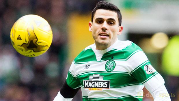 Celtic midfielder Tom Rogic