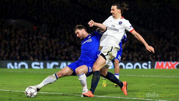 Chelsea v Paris Saint Germain Champions League