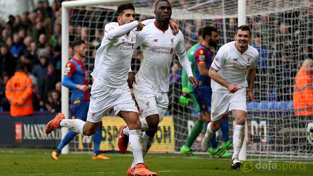 Crystal Palace v Liverpool Christian Benteke