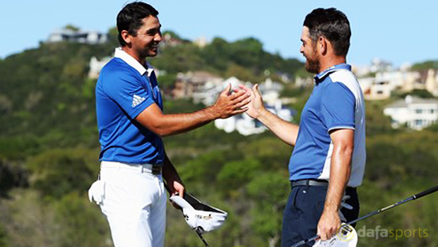Jason Day and Louis Oosthuizen WGC-DELL MATCH PLAY