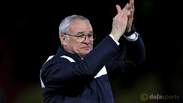 Leicester City manager Claudio Ranieri Premier League