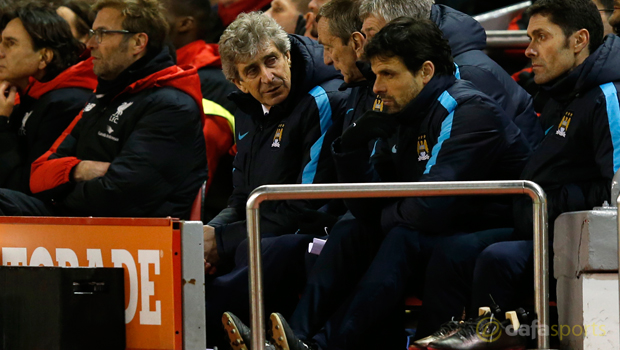Liverpool v Manchester City Manuel Pellegrini